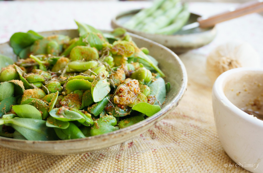 Spring Pick-Me-Up Food: Artichoke, Fava Beans, Purlane