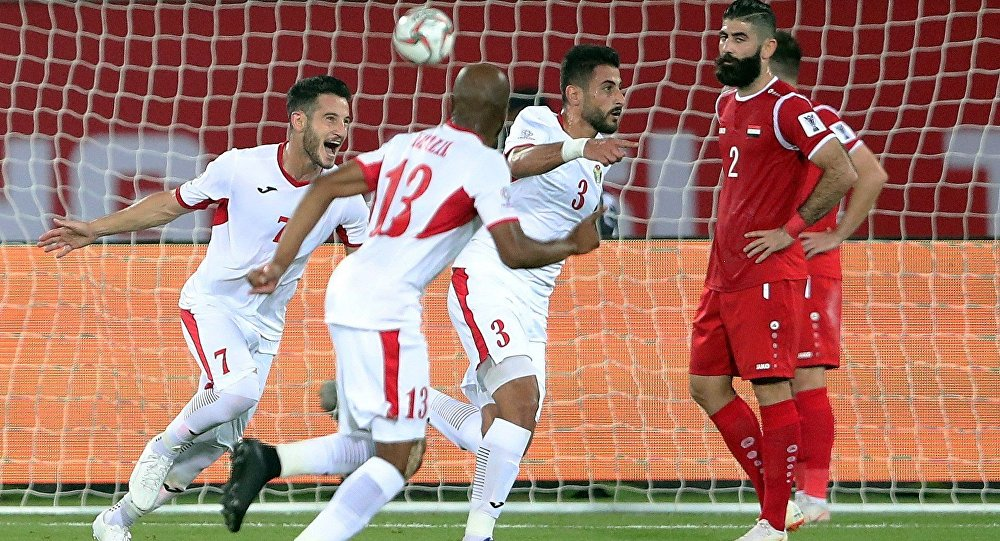 Ürdün Suriye'yi Asya Kupası dışına itti
