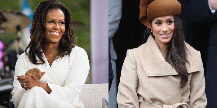 Michelle Obama'dan Meghan Markle'a Joseph Altuzarra modaya hükmediyor