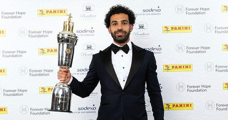 Salah, Yılın Afrika'da Futbolcusu oldu