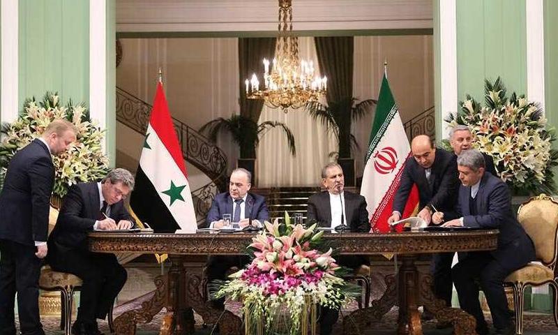Suriye ve İran 'stratejik' ekonomik anlaşmayı imzaladılar