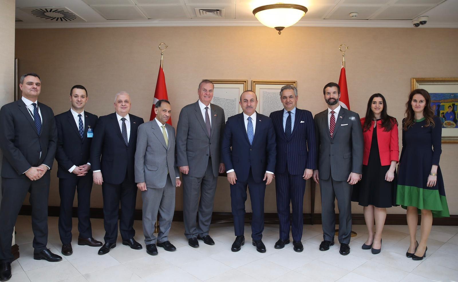 Dışişleri Bakanı Çavuşoğlu, Medeniyetler İttifakını İspanyol diplomatla görüştü