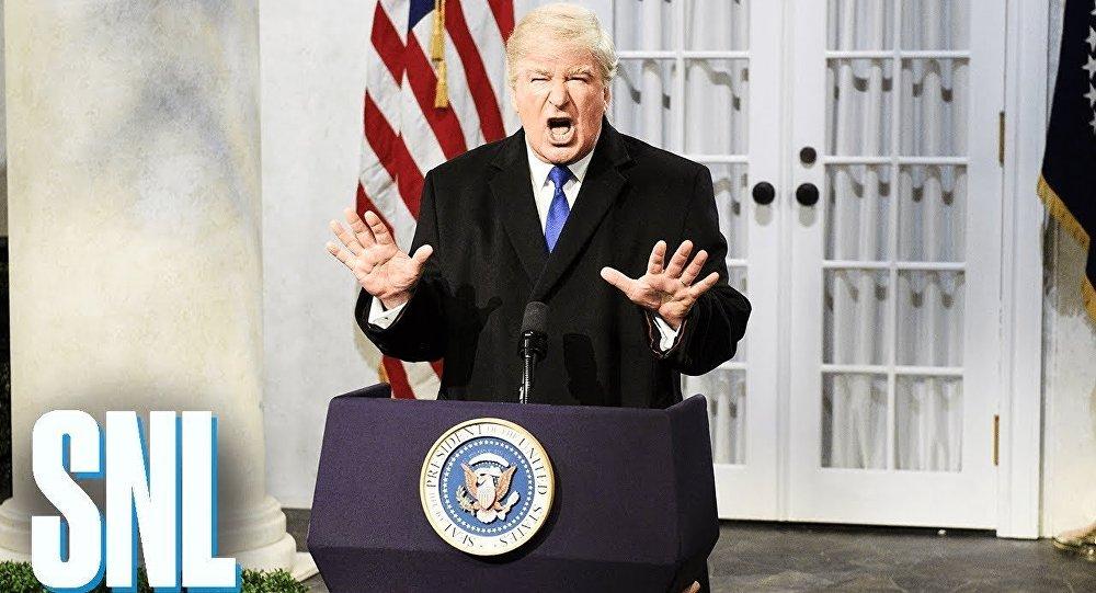 Aktör Alec Baldwin'den Başkan Trump'a: Söyledikleri bana ve aileme tehdit mi teşkil ediyor?