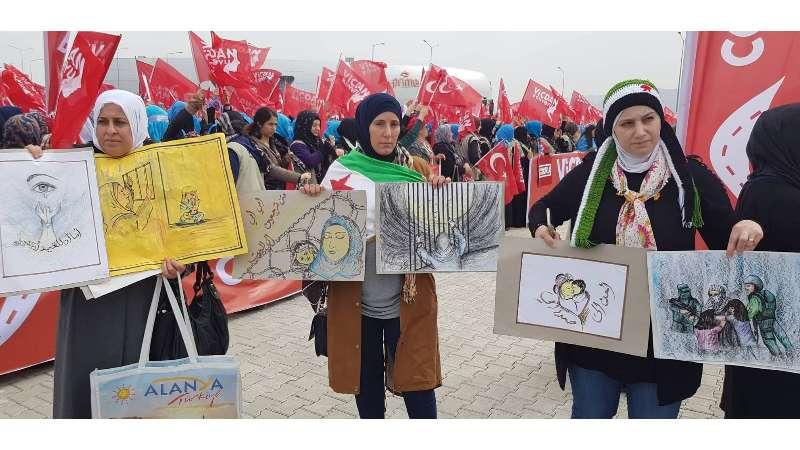 İstanbul'da tutuklu Suriyeli kadınlarla ilgili uluslararası konferans