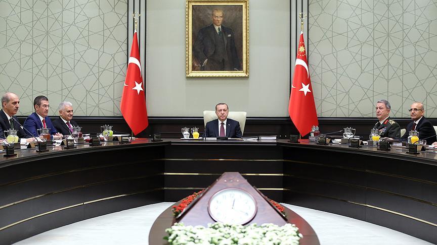 Ulusal Güvenlik Konseyi, Türkiye'yi hedef alan terör gruplarına dış yardımın durdurulması çağrısında bulundu