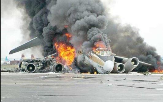Etiyopya'da yolcu uçağ'nın düşmesi