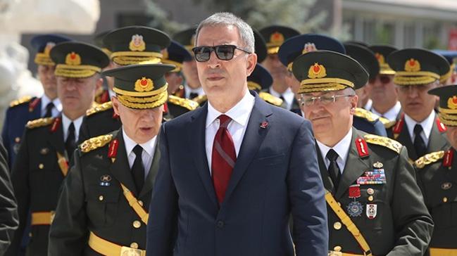 Savunma Bakanı Akar, ABD Savunma Sekreteri Shanahan, ABD'nin Suriye'den çekilişini tartıştı