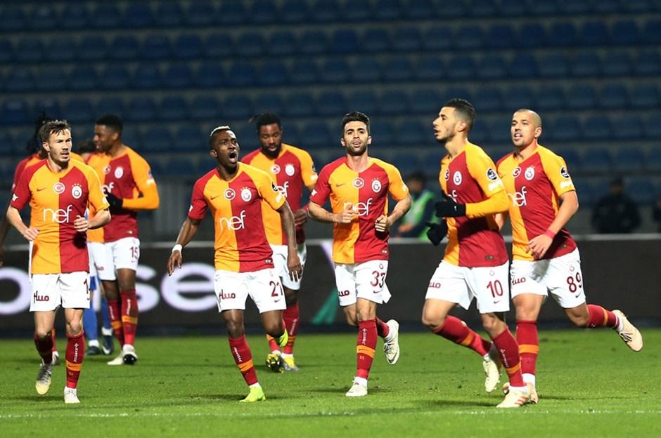 Galatasaray Erzurumspor'a konuk oluyor: İşte ilk 11'ler