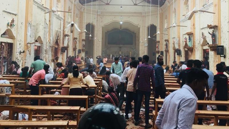 sri Lanka'da 8 patlama! En az 185 ölü 500'den Fazla Yaralı