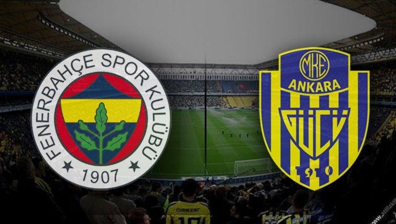 Fenerbahçe, Ankaragücü Karşısında!
