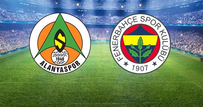 Fenerbahçe, Alanyaspor'a Konuk Olacak! İlk 11'ler Belli Oldu
