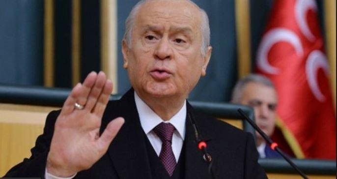 Bahçeli'den İmamoğlu açıklaması: Bundan belediye başkanı olmaz !