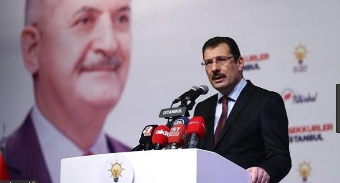 AKP : İstanbul'da seçimin yenilenmesini isteyeceğiz !