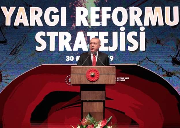 Cumhurbaşkanı Erdoğan Yargı reformunu açıklıyor
