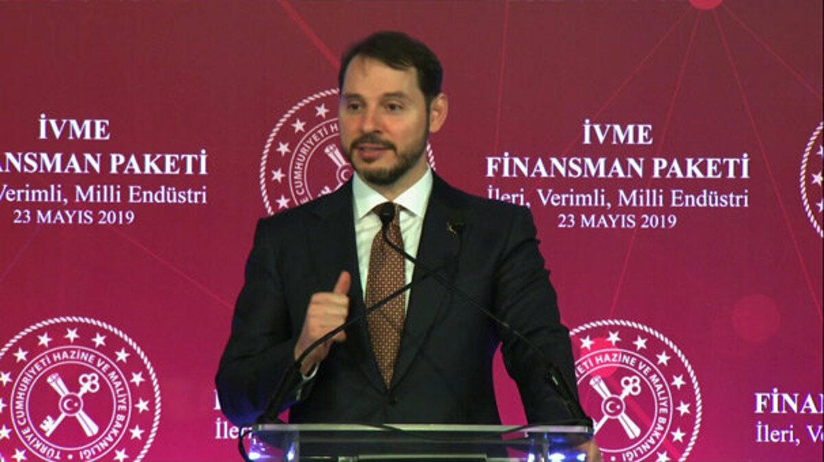 Bakan Albayrak , İVME Finansman Paketi'ni açıkladı