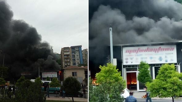 İzmir'de yangın çıktı
