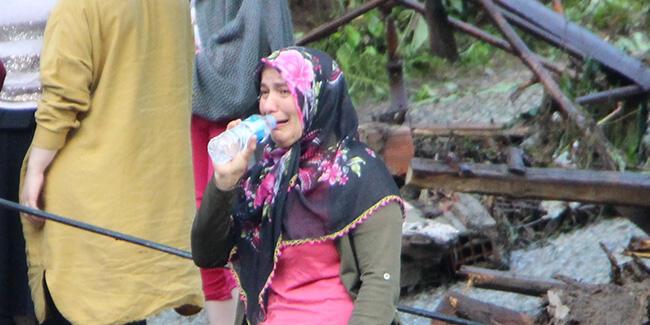 Trabzon'daki selde kayıp bir kişinin cansız bedenini bulundu