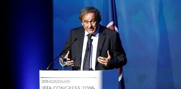 Eski UEFA Başkanı Michel Platini sorgusunun sonrası serbest bırakıldı