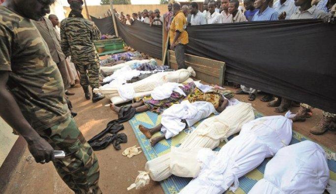 Mali'de bu ne felaket yaklaşık 100 ölü var !