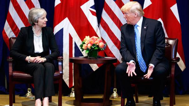 Trump: İngiltere anlaşmasız bir Brexit 'e hazırlıklı olmalı