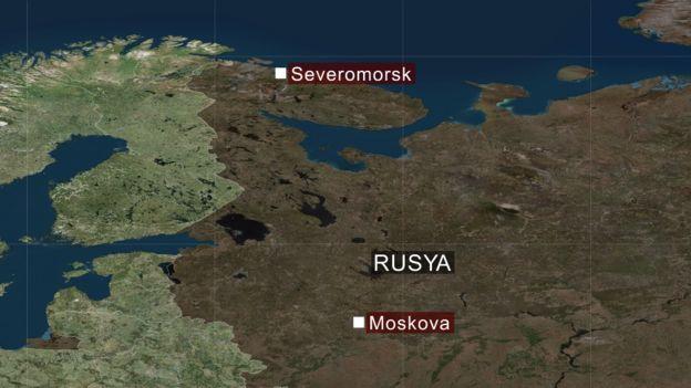 Rusya: Su altı aracında çıkan yangında 14 mürettebat öldü