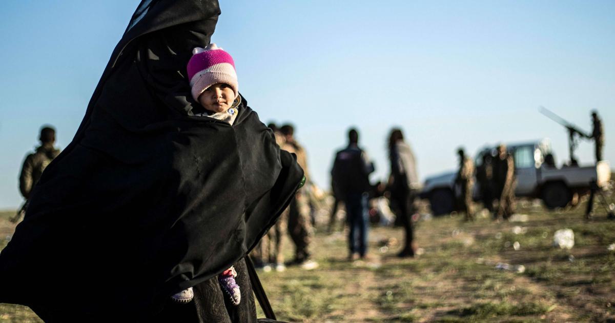 '800'e Türkiye kökenli kadın ve çocuk Irak'ta tutuluyor