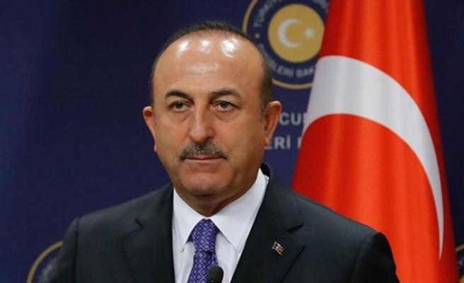 Çavuşoğlu'ndan Suriye'de güvenli bölge açıklaması