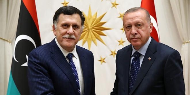 Erdoğan, Libya Hükümet Başkanı ile görüştü