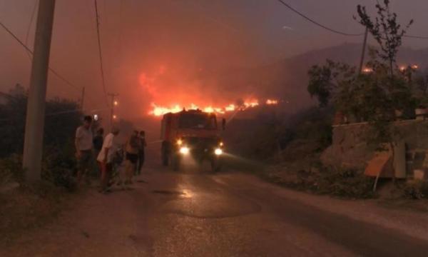 Marmara Adası'ndaki yangın ile ilgili 1 kişi gözaltında