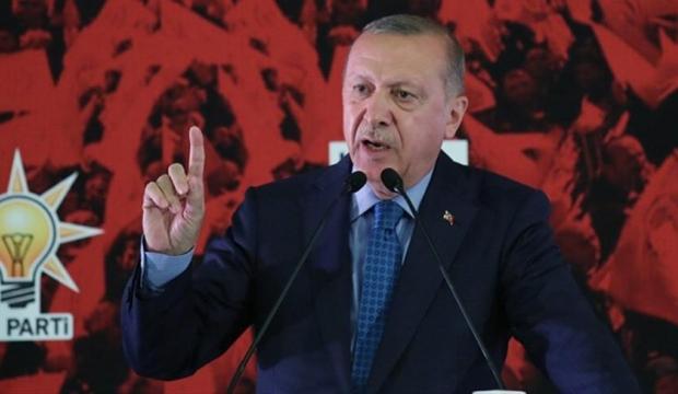 AK parti başkani Erdoğan:Seçilmiş Olmak Suç İşleme Özgürlüğü Tanımaz