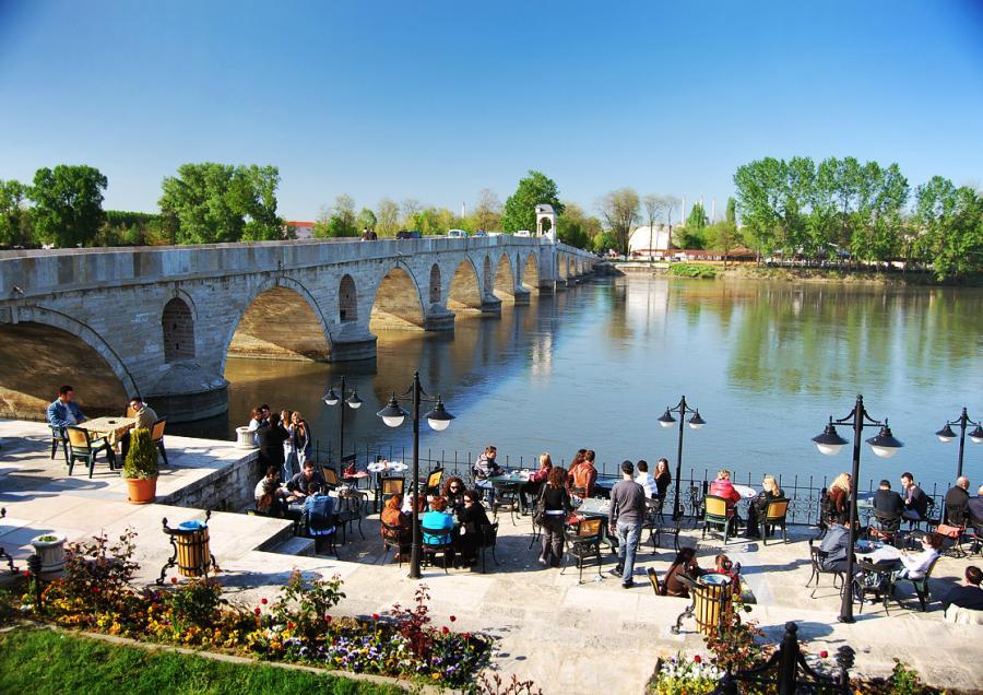Edirne'de alışverişe gelen turist sayısı azaldı