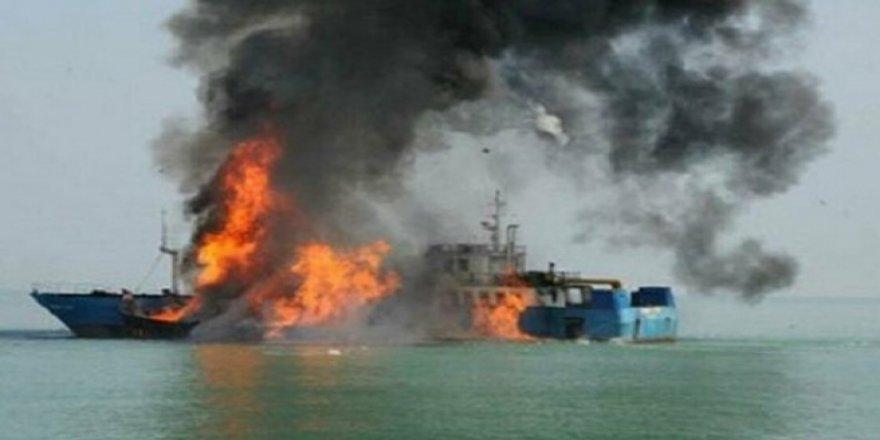 ABD 'de yolcu gemisinde yangın : 34 ölü.