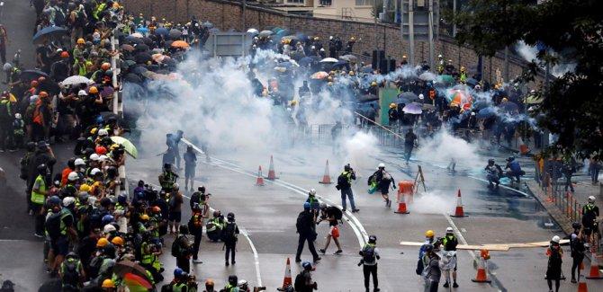 Hong Kong yönetiminin tartışmalı yasa tasarısı