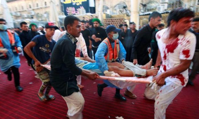 Aşure Gününde Irak'ta bir facia 31 ölü 100'den fazla yaralı
