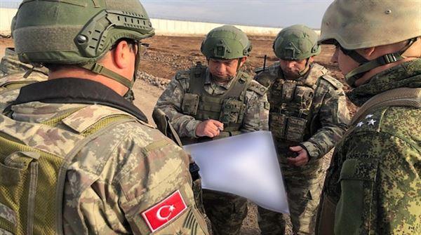 استكمال الدورية التركية الروسية الـ11 شرق الفرات