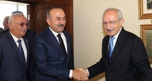 تشاوش أوغلو يلتقي زعيم أكبر حزب تركي معارض لمناقشة مذكرة إرسال تعزيزات عسكرية إلى ليبيا