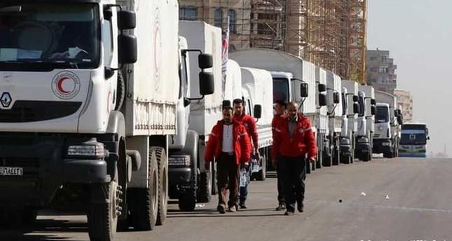 الهلال الأحمر التركي يدعو لإيصال المساعدات إلى سوريا بآلية جديدة